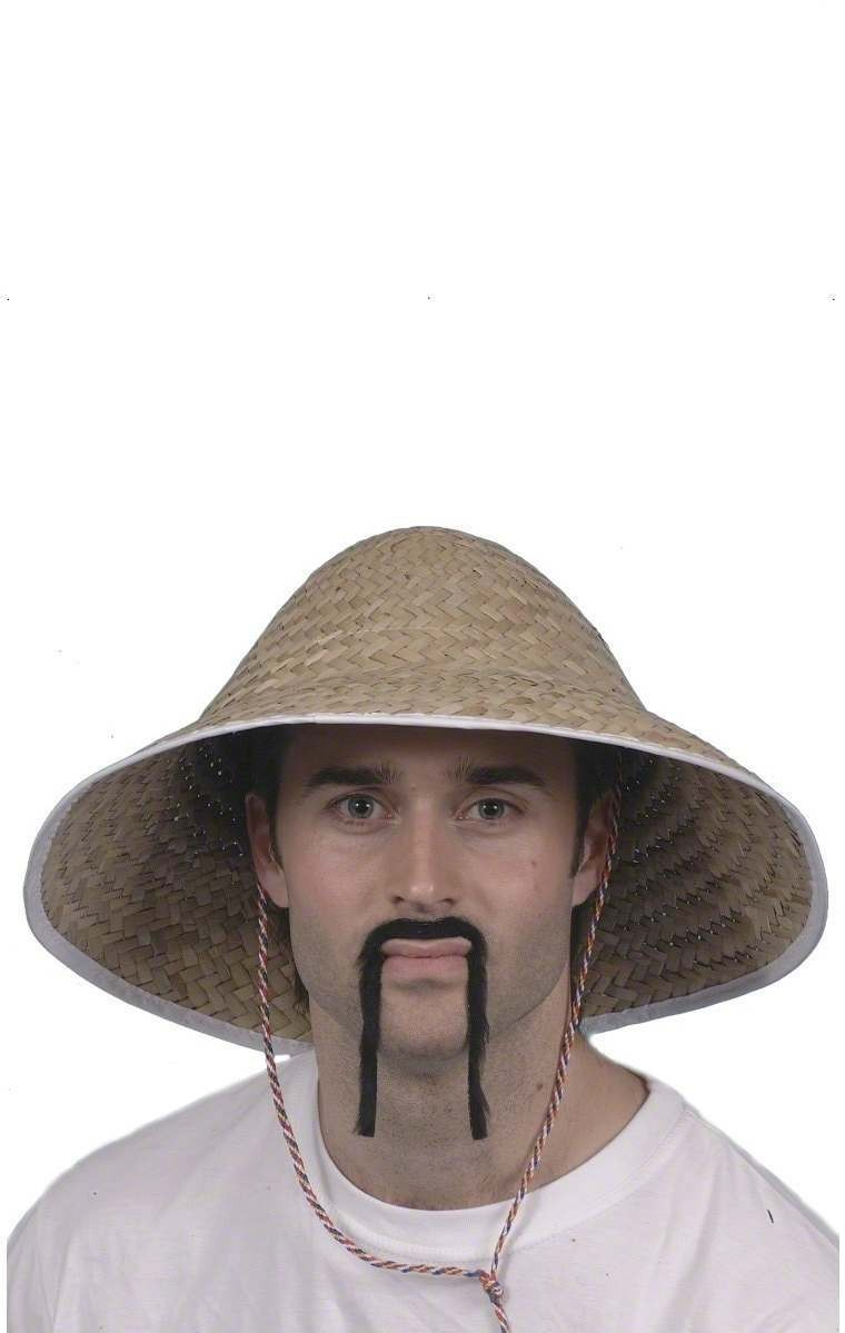Chinese Coolie Straw Hat - Fancy Dress