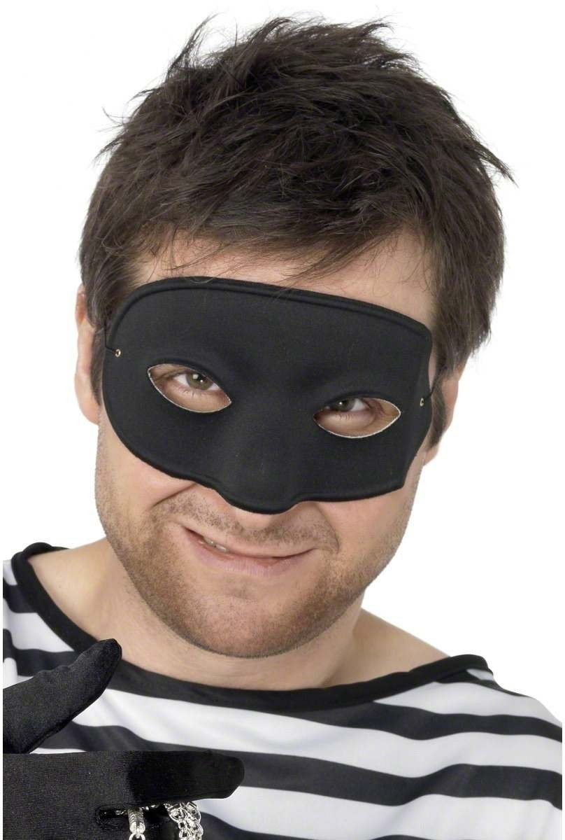 Burglar Eyemask - Fancy Dress