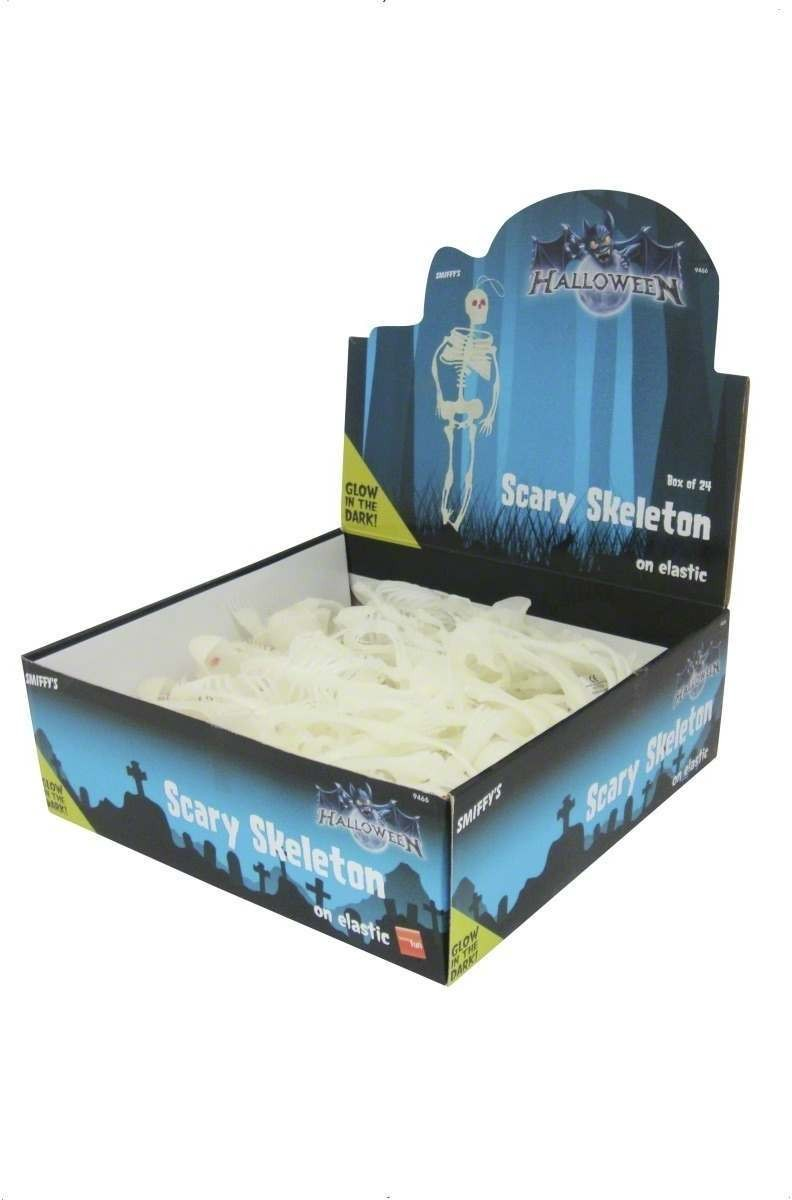 Glow In The Dark Skeleton - Fancy Dress (Halloween)
