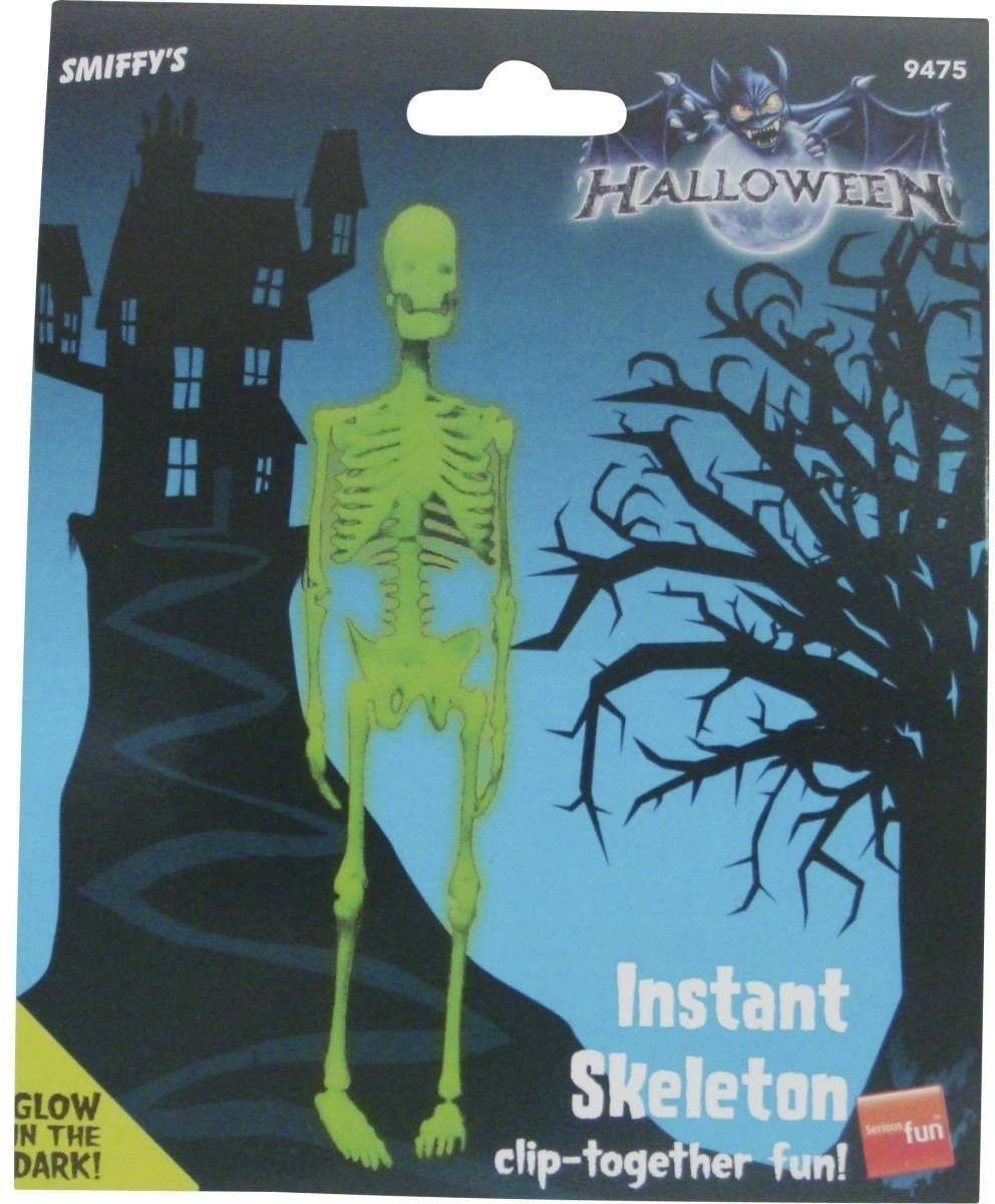 Glow In The Dark Skeleton Kit - Fancy Dress (Halloween)