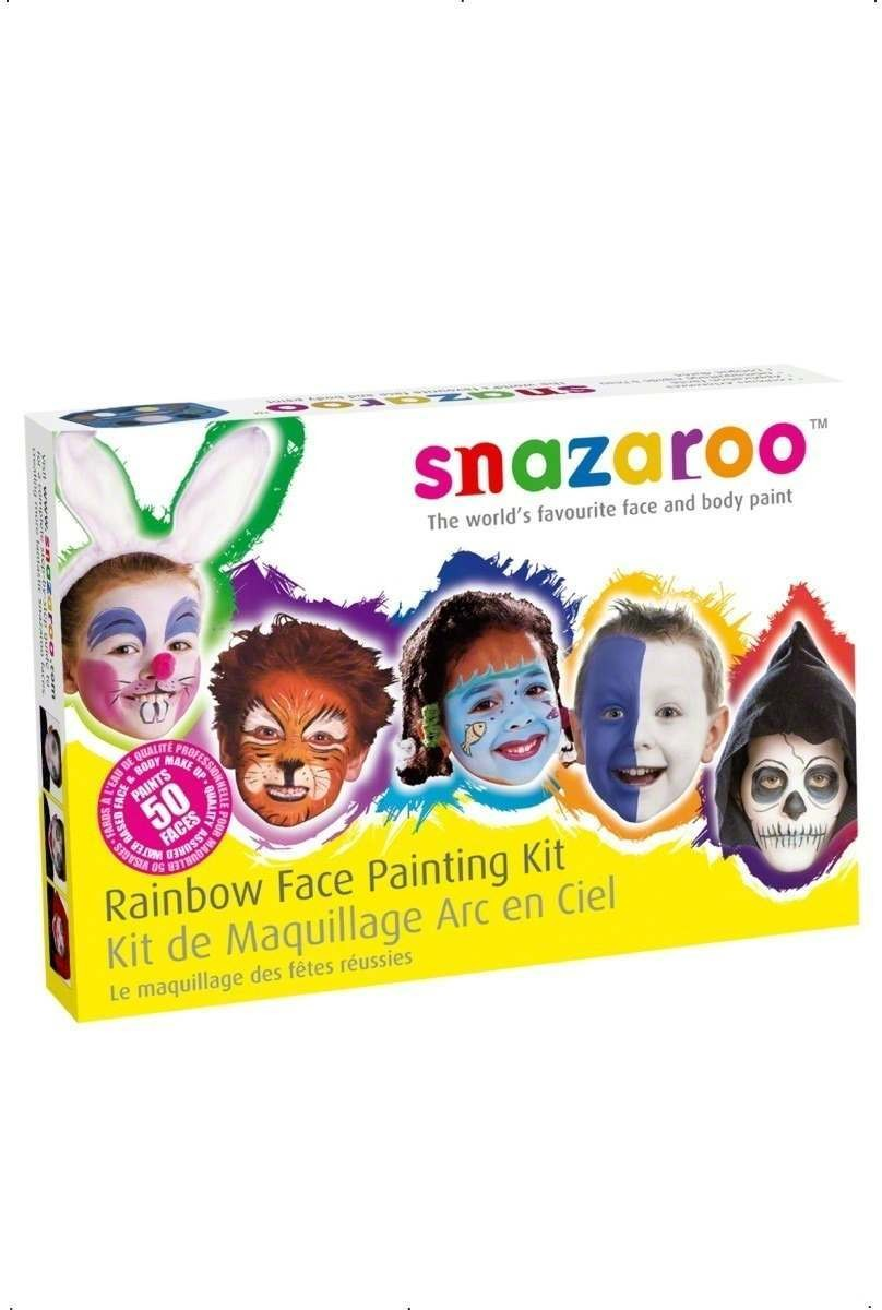 Rainbow Face Painting Kit - Fancy Dress