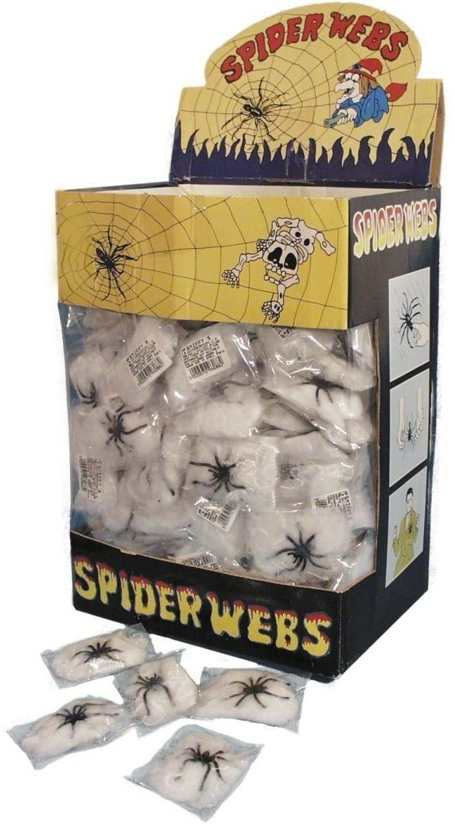 Spider Web Fibre - Fancy Dress (Halloween)