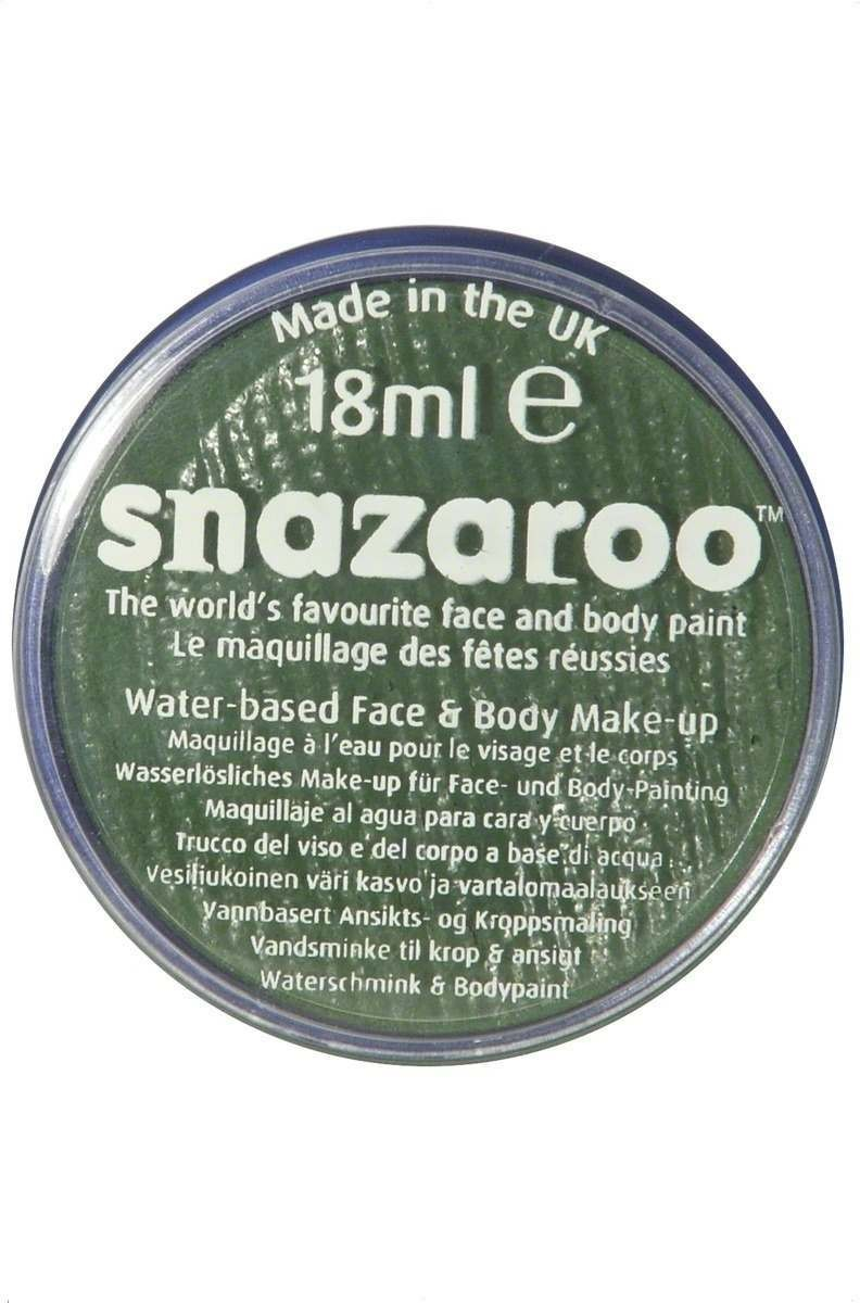 18Ml Face And Body Paint - Grass Green