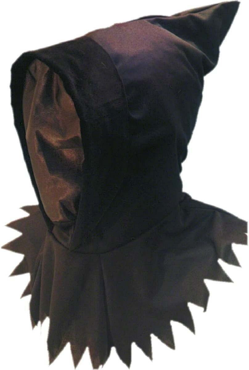 Ghoul Hood / Mask - Fancy Dress Mens (Halloween)