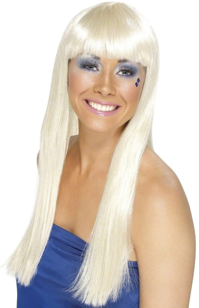 Dancing Queen Wig - Fancy Dress Ladies (1970S) - Blonde