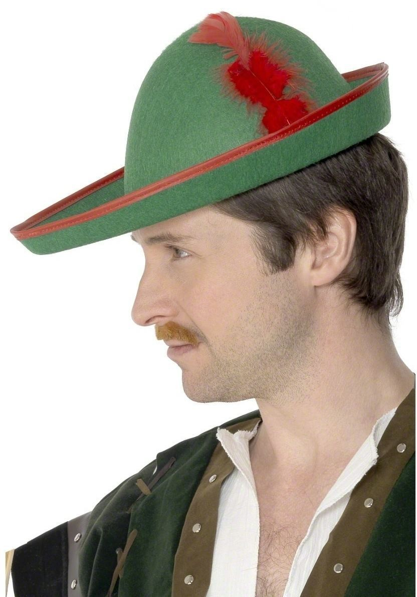 Robin Hood Hat - Fancy Dress Mens
