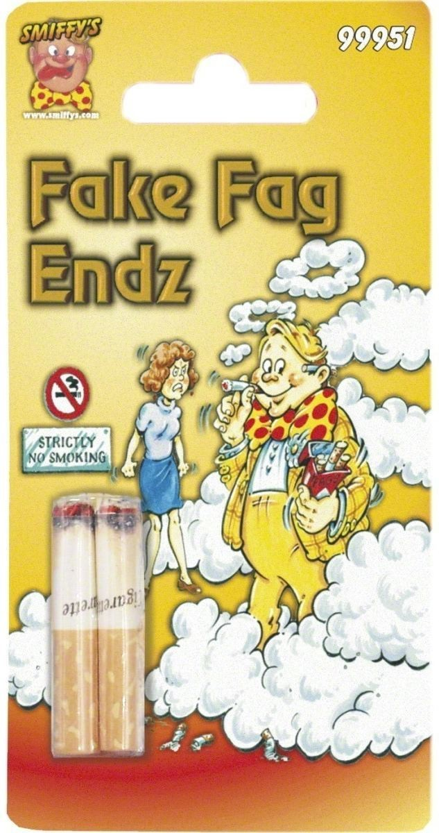 Fake Cigarette Ends - Fancy Dress