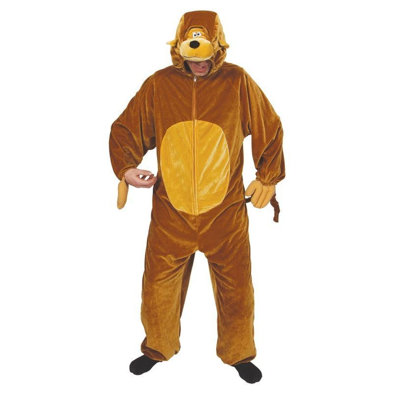 Monkey ( Adult One Size) Fancy Dress (Animals)