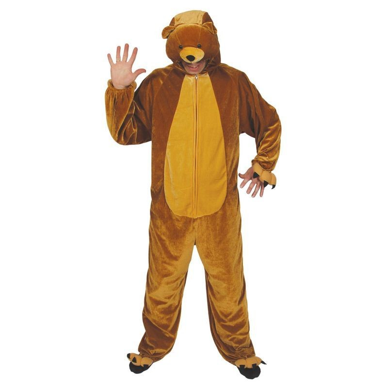 Bear ( Adult One Size) Fancy Dress (Animals)