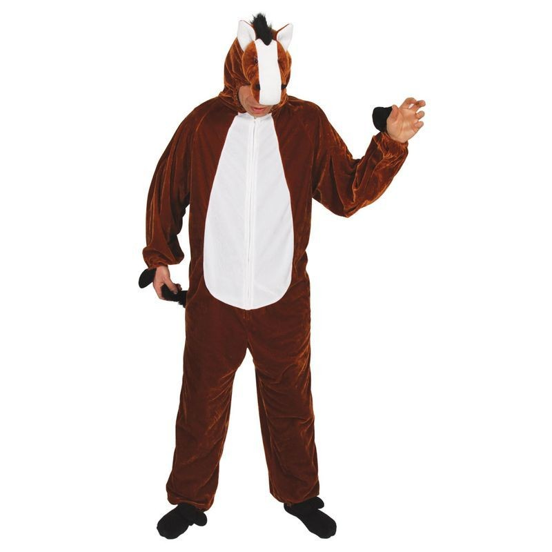Horse ( Adult One Size) Fancy Dress (Animals)