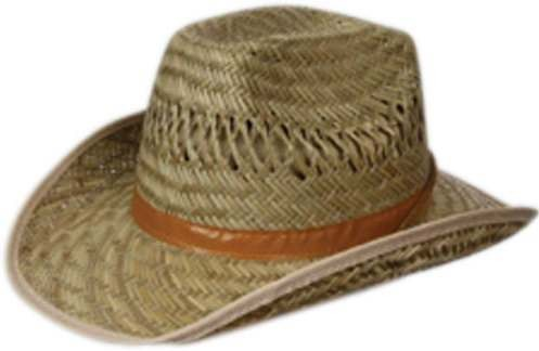 Straw Cowboy Hat Fancy Dress (Cowboys/Native Americans)