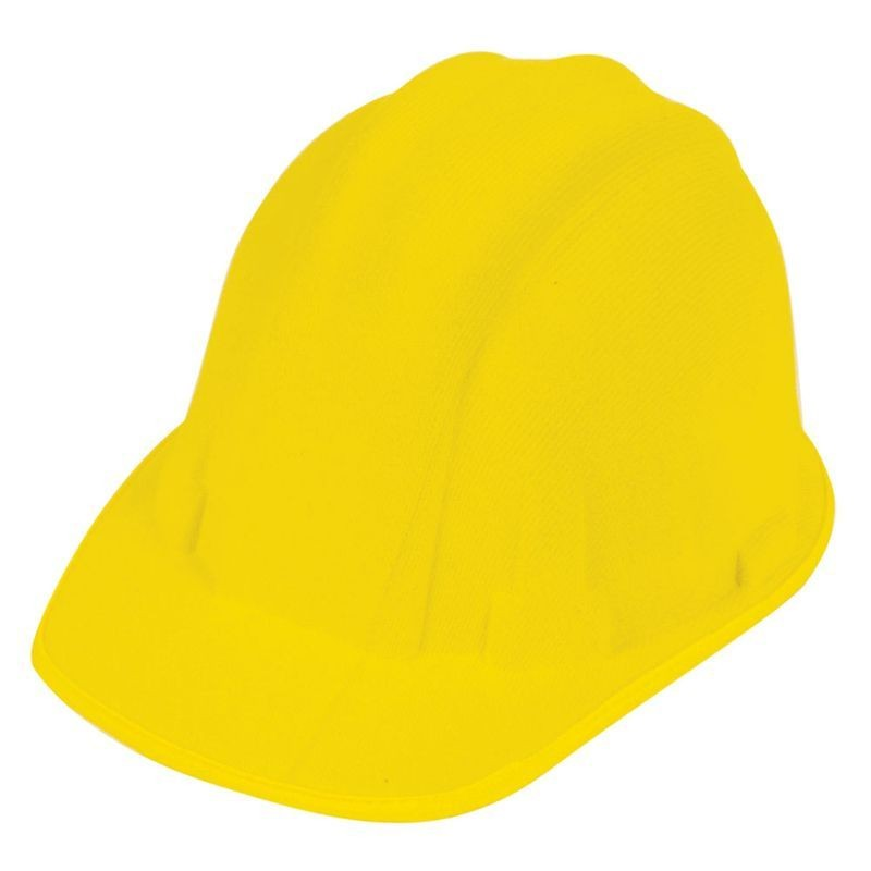 Mens Builders Hat Hats - (Yellow)