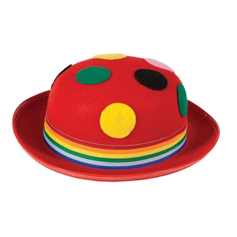 Mens Clown Hat Hats - (Multicolour)