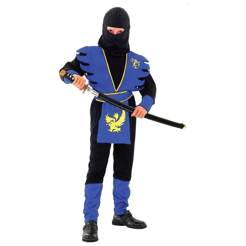 Ninja Assassin Fancy Dress Costume Boys (Ninja)