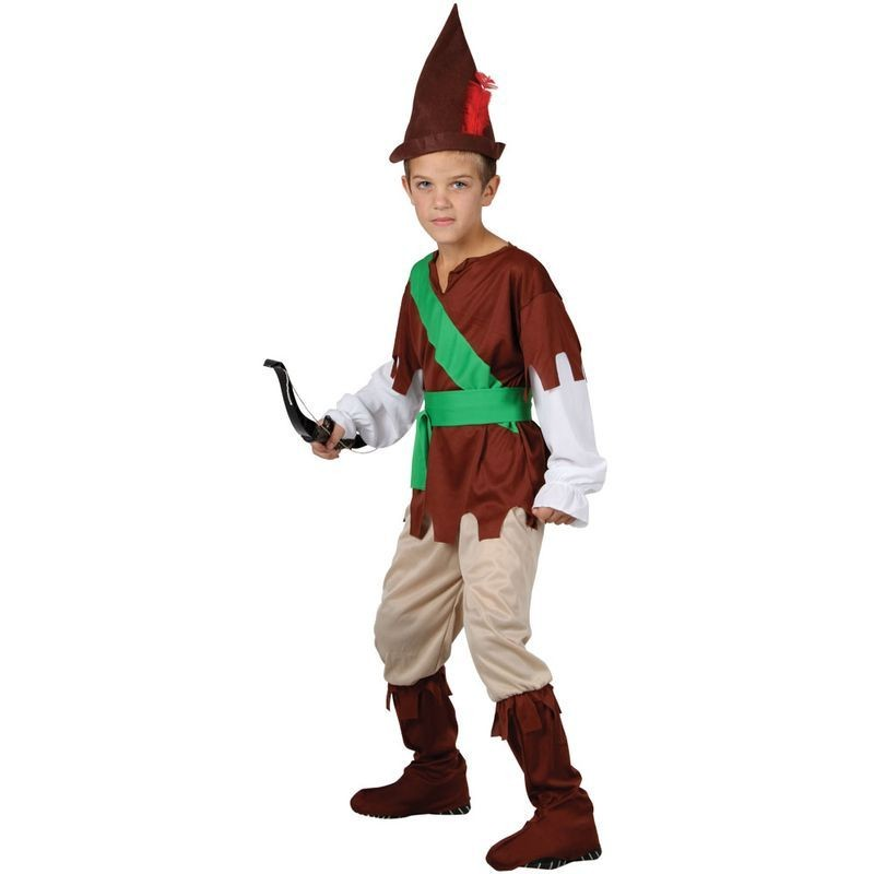 Boys Robin Hood Costume Fancy Dress (Film)