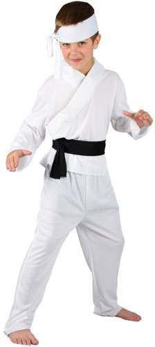 Boys Karate Boy Costume Fancy Dress (Film)