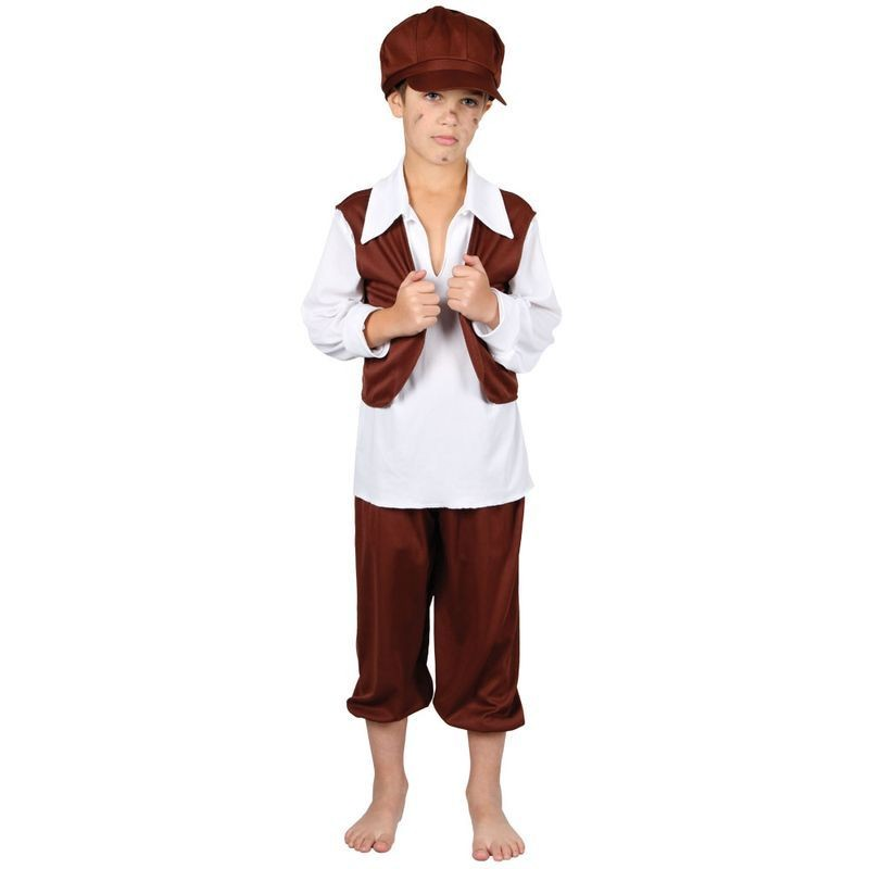 Boys Chimney Sweep Costume Fancy Dress (Old English)