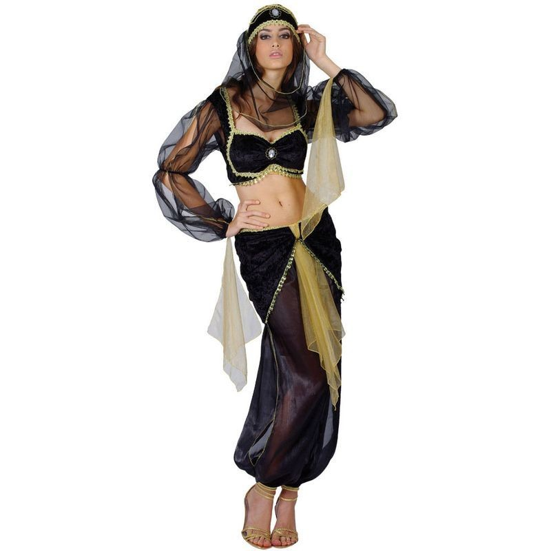 Arabian Princess Fancy Dress Costume Ladies (Royalty)