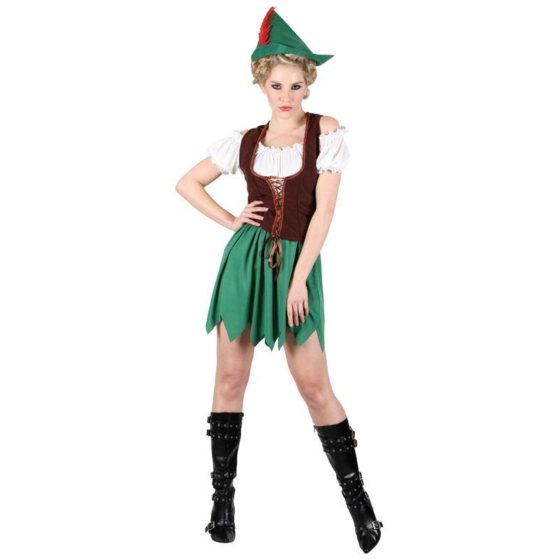 Ladies Robin Hood - Female Budget Costume (Fairy Tales)
