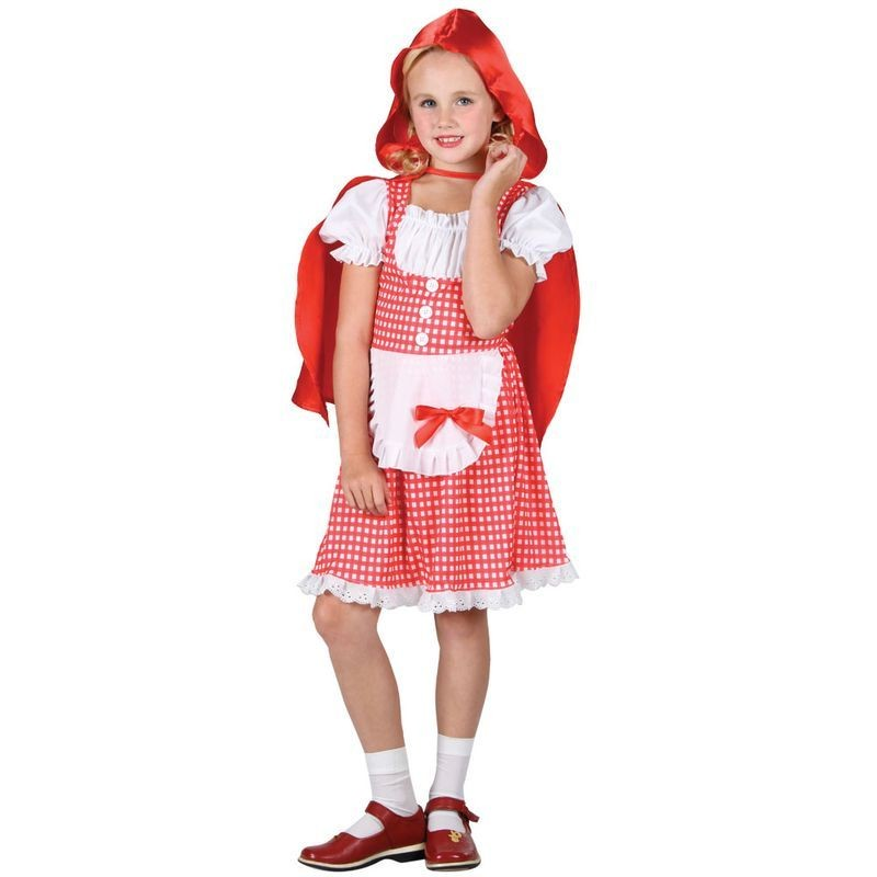 Girls Storybook Red Riding Hood Costume (Fairy Tales)