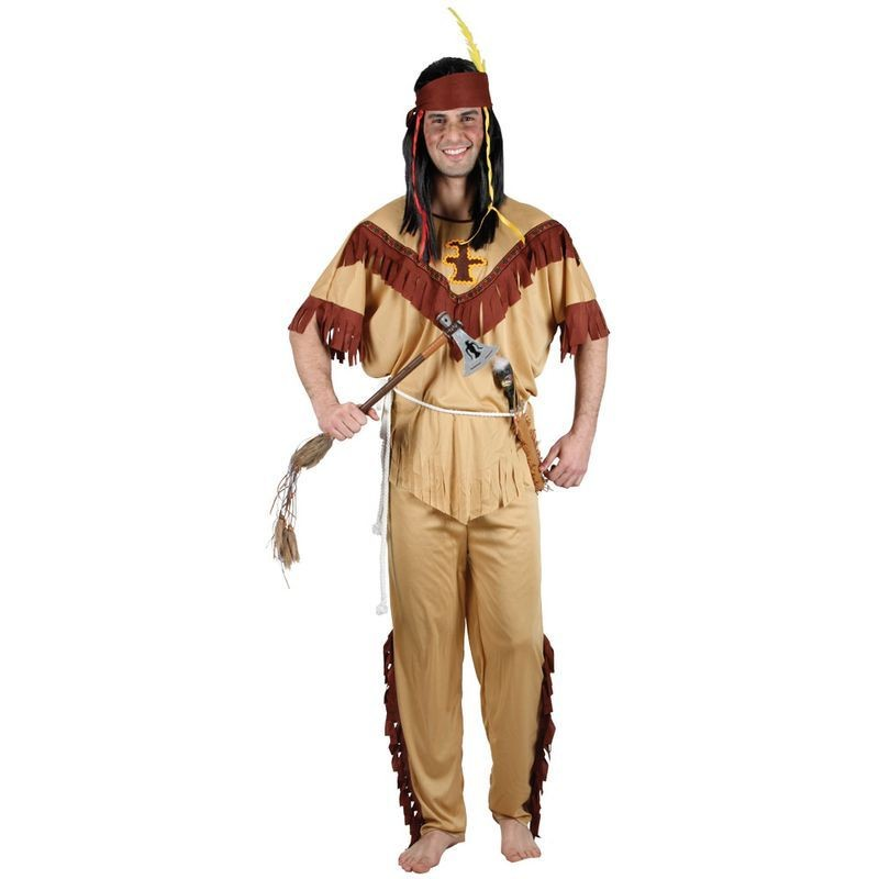 Mens Native Indian - Budget Costume (Cowboys/Indians)