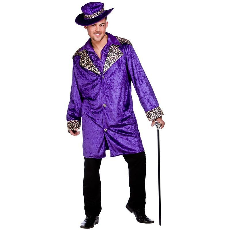 Mens Pimp Daddy Pimp Outfit (Purple)