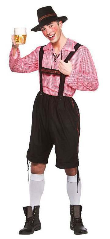 Mens Oktoberfest Party Guy Fancy Dress Costume