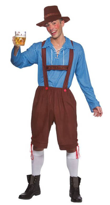 Mens Bavarian Party Guy Fancy Dress Costume