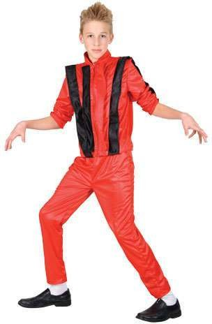 Childs King Of Pop Costume Fancy Dress (Music)