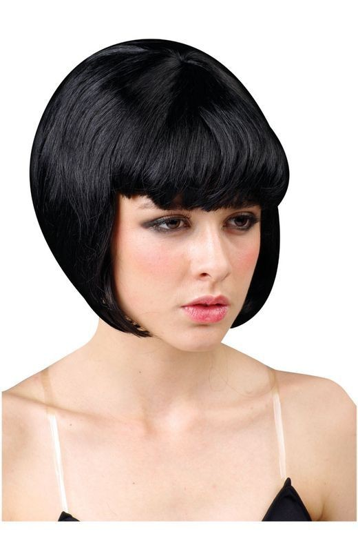 Babe Wig Black - Fancy Dress Ladies