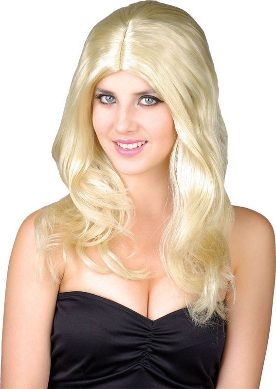 Glamour Wig Blonde - Fancy Dress Ladies