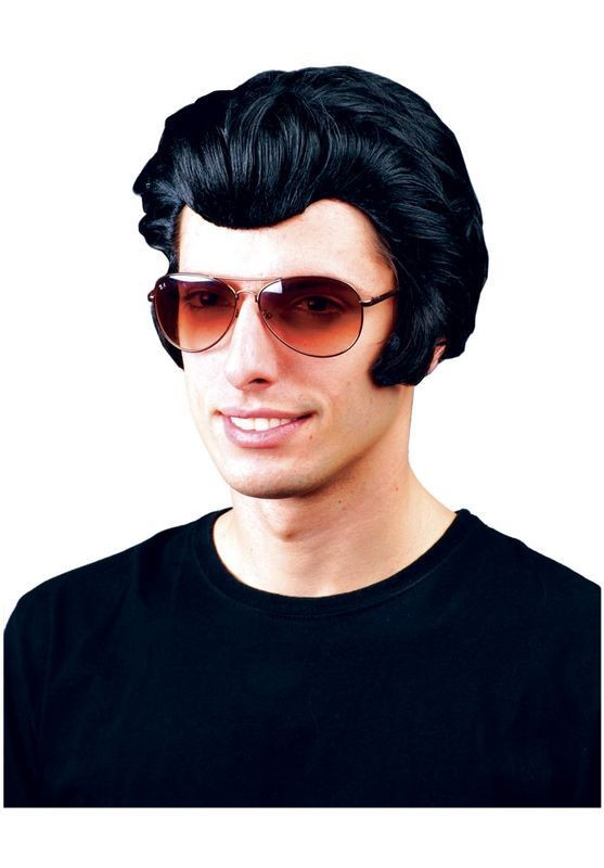Rocker Wig - Fancy Dress Mens