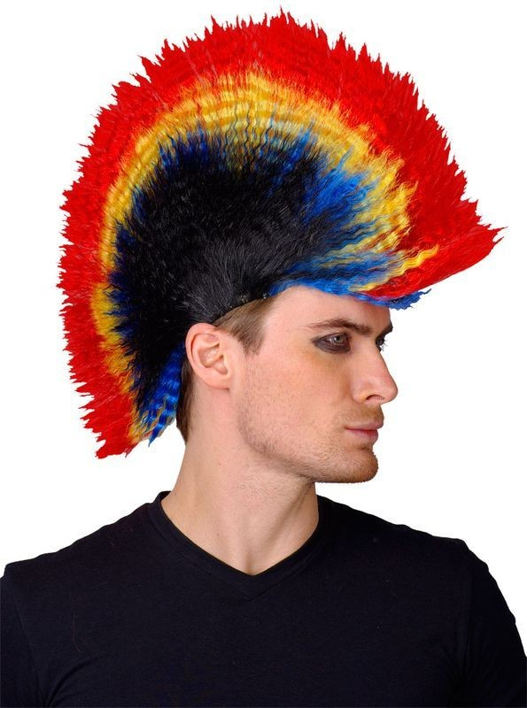 Punk Rocker Wig - Fancy Dress Mens