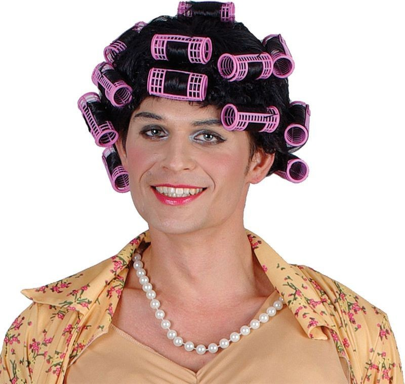 Funny Housewife Fancy Dress Costume Mens