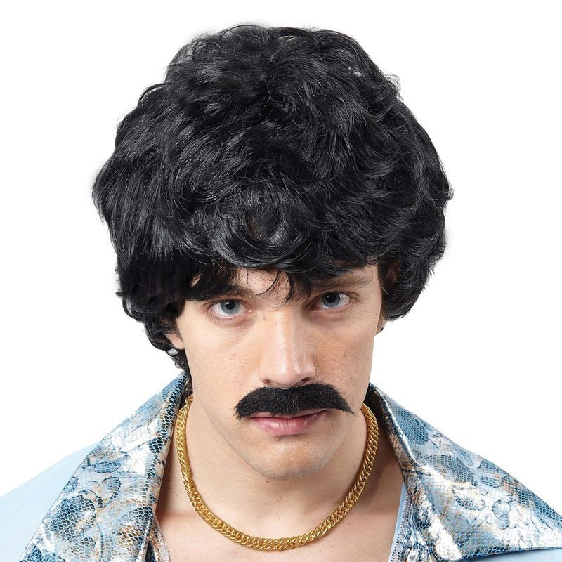 70'S Guy Wig - Fancy Dress Mens (1970S)