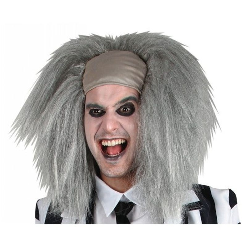 Crazy Spirit Wig Fancy Dress