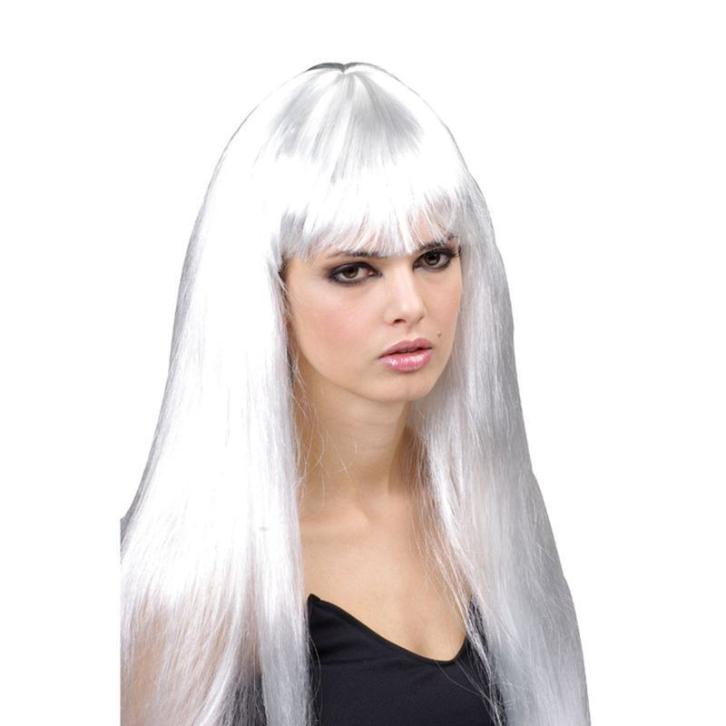 Lady Pop Star Wig Fancy Dress