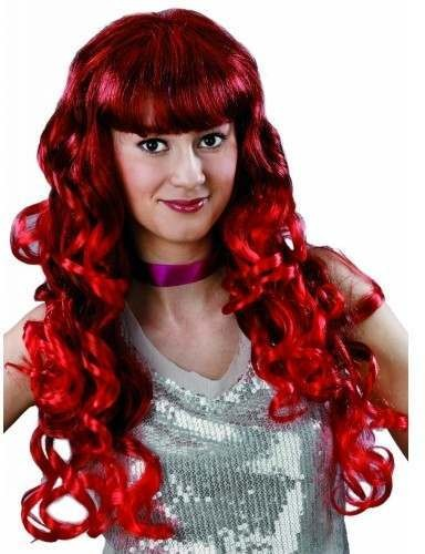 Luscious Wig - Red Fancy Dress