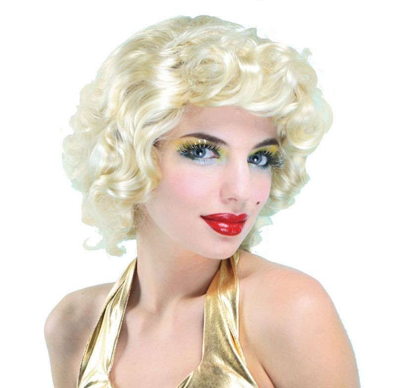 Deluxe Blonde Bombshell Fancy Dress