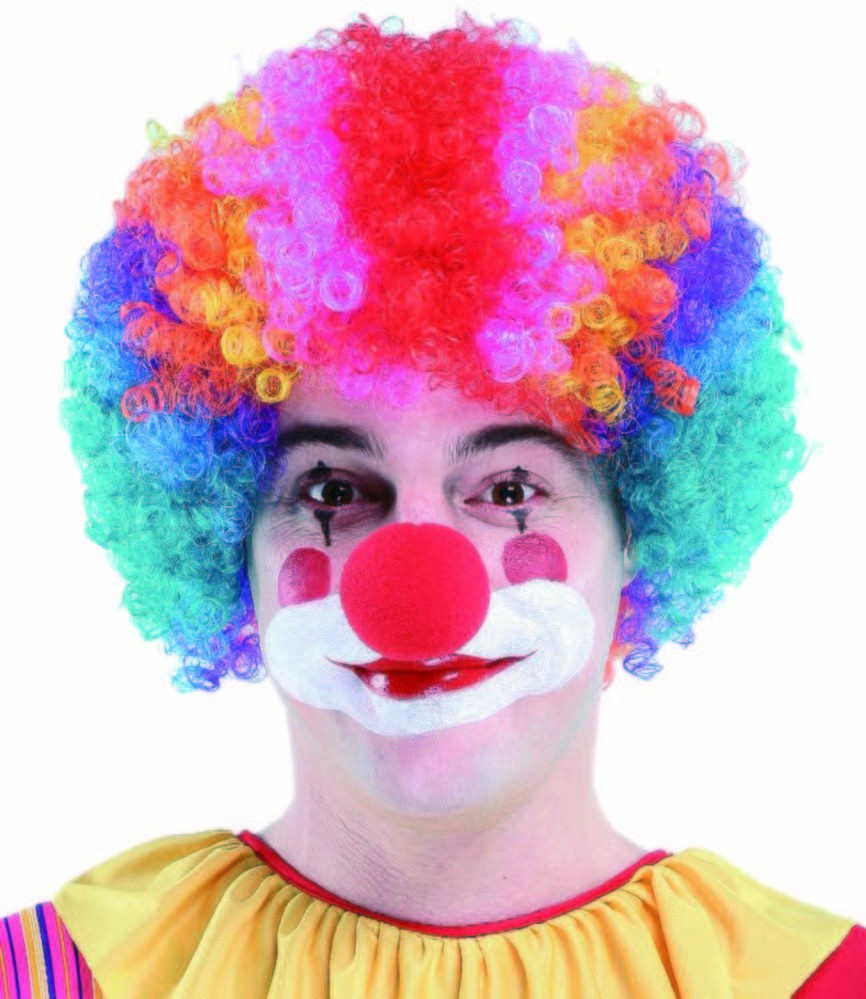 Clown Wig Fancy Dress