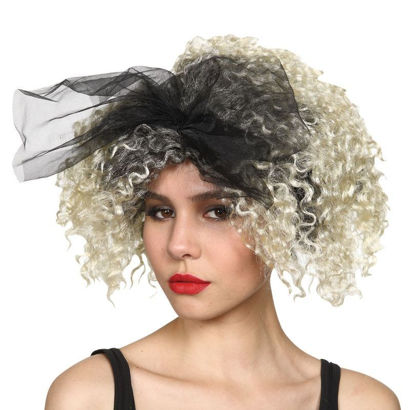 Ladies 80'S Material Girl Wig Wigs - (Blond)