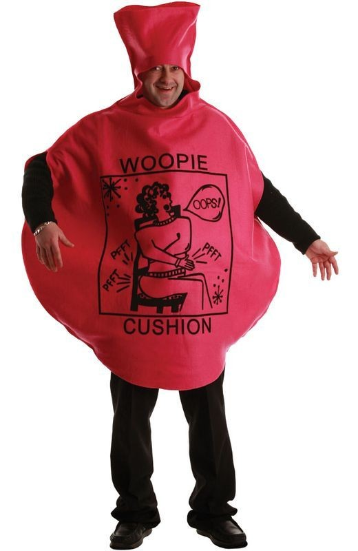 Whacky Whoopee Cushion Fancy Dress Costume