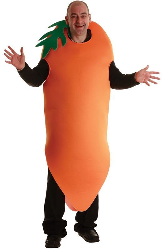 Crazy Carrot Fancy Dress Costume (Food)