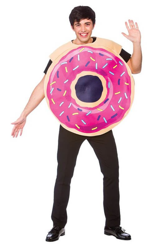 Adults Doughnut Fancy Dress Costume