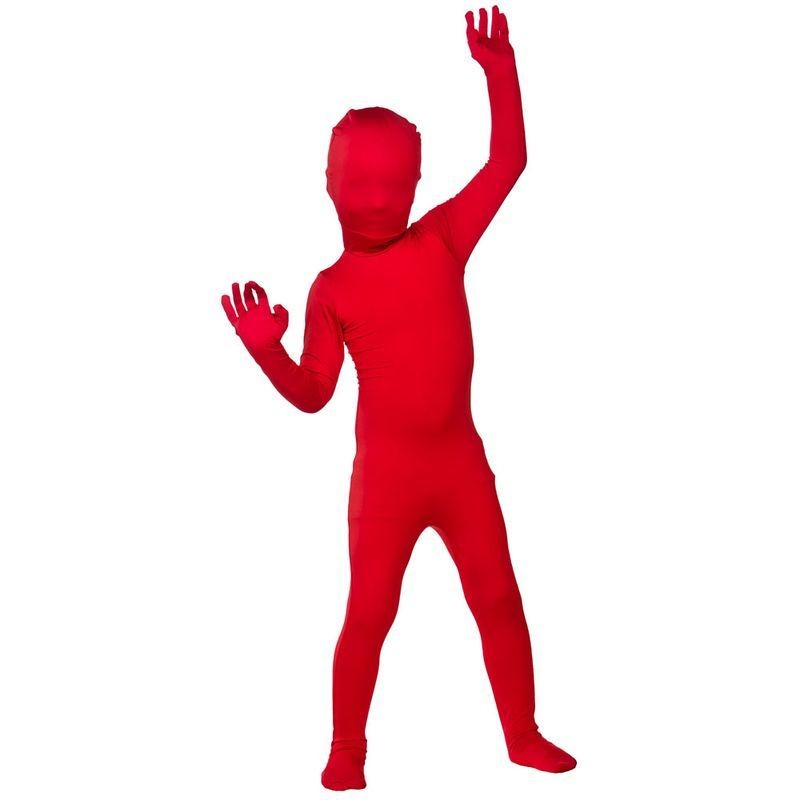 Boys Kidz Skinz - Red Outfit - (Red)