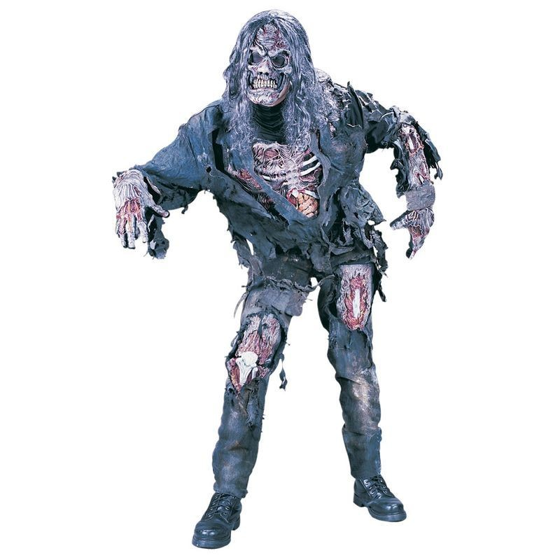 Complete Zombie (Adult One Size) Fancy Dress