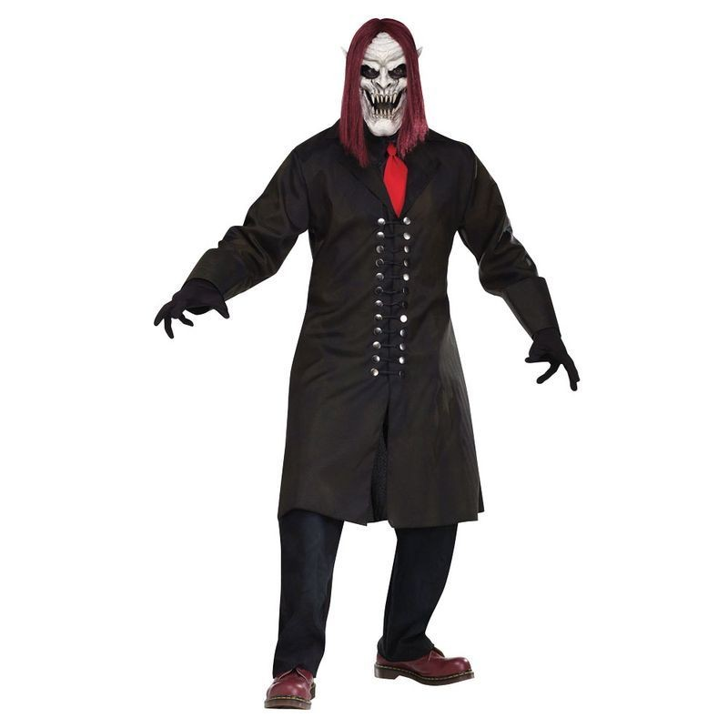 Mens F/World Demon Vampire Costume Halloween Outfit - One Size (Black)