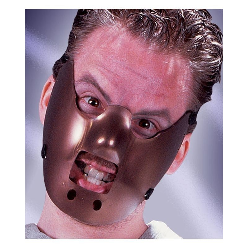 Mens F/World Maximum Restraint Mask Masks - (Brown)