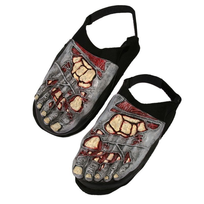 Zombie Foot Covers (Pair) Accessories