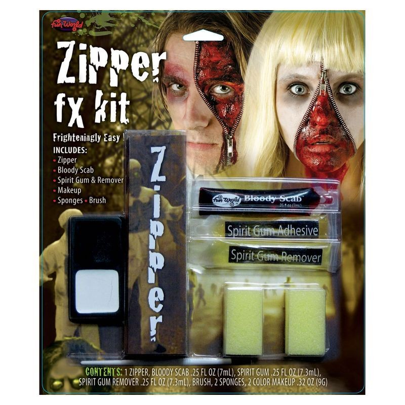Zipper Face Fantastic Fx Kit Other